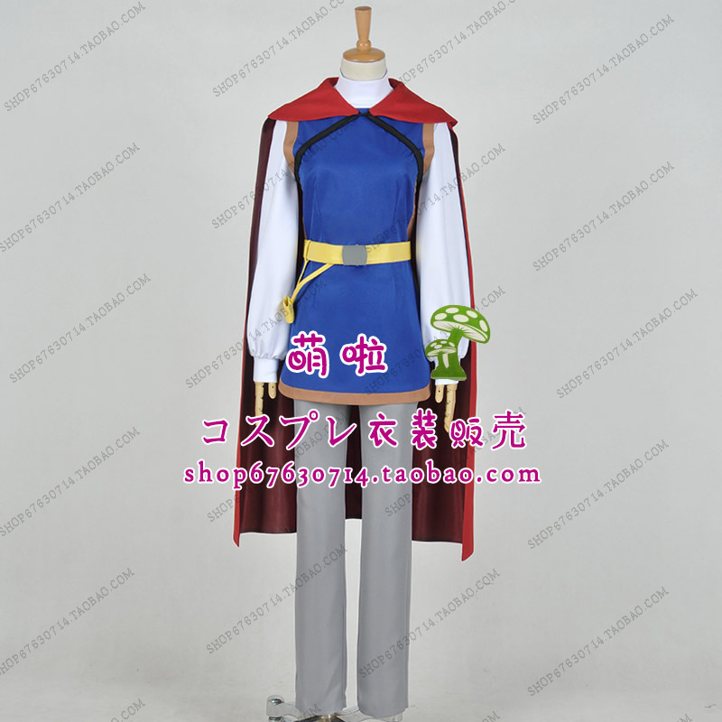 Free Shipping Prince Handsome Snow White Cosplay