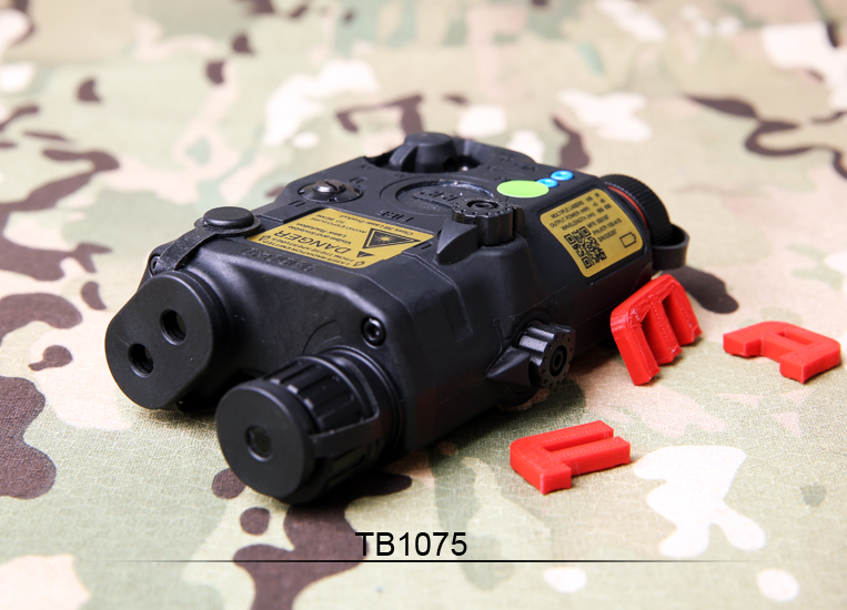 FMA Tactical Military PEQ LA5-C Upgrade Version LED White light + Green laser with IR Lenses BK/DE/FG Battery case