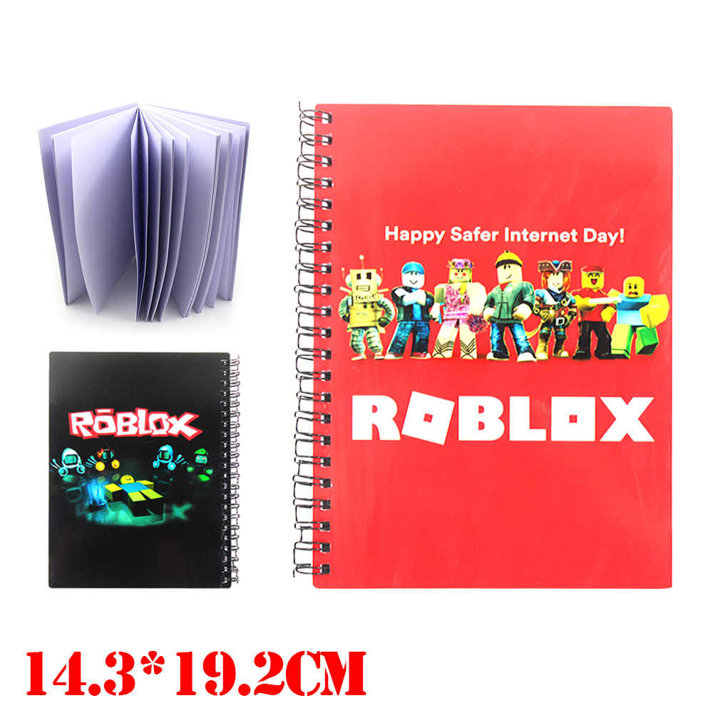 OHCOMICS Hot Game Roblox Unicorn Thick Notebook Study Message Paper Jotter  Pocketbook Student School Book