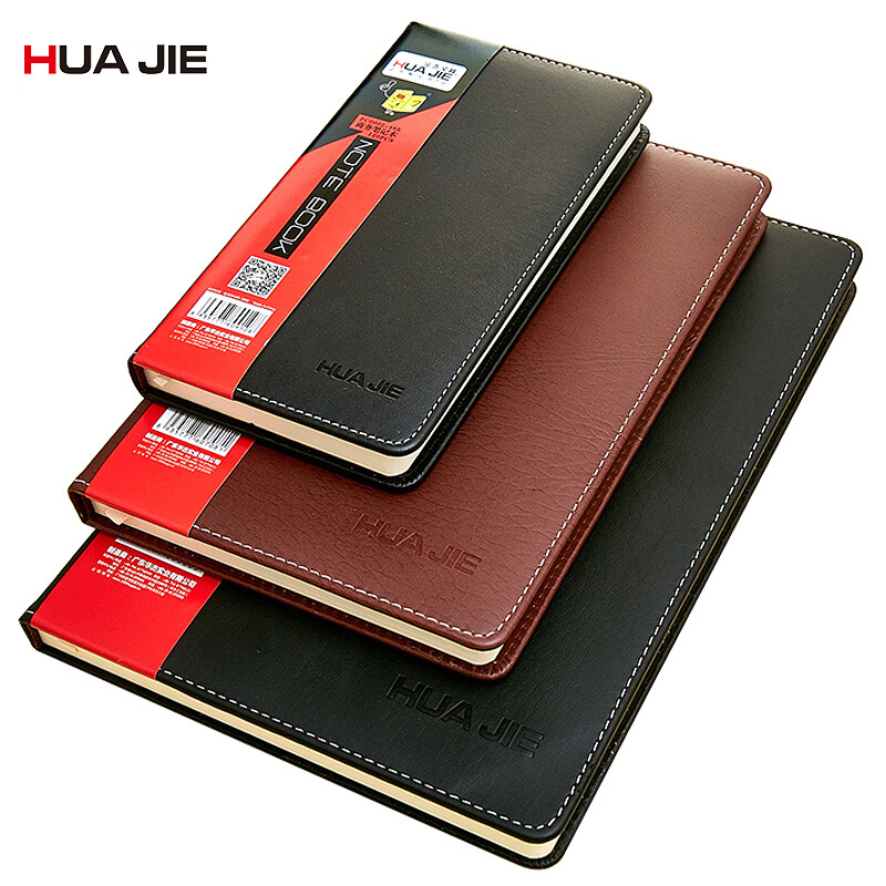 School Office Stationery Supplies Plan Diary Notebook Business Copybook 18K/25K/48K Leather Notepad Drawing Painting Gift PC0002