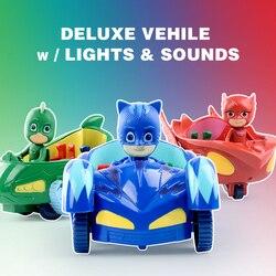1-3pcs/set pj oyuncak masks anime action figures pjmask kids toys for children boys pyjamasque model cars
