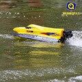 Красный и желтый Высокая скорость жестокие HQ-959 20-25 КМ/Ч 2.4 Г rc лодка катер rc скорость управления по радио racing лодка детские игрушки дети подарок