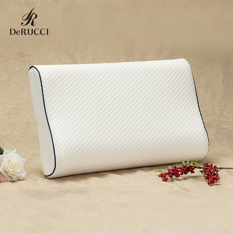 Derucci Memory Foam Pillow Bedding Pillows Cervical Orthopedic Neck Pillow Soft Sleeping Pillows Health Care Slow Rebound