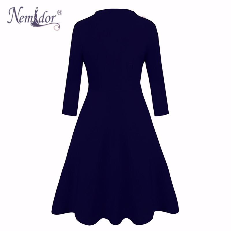Plus size vintage dress (1)