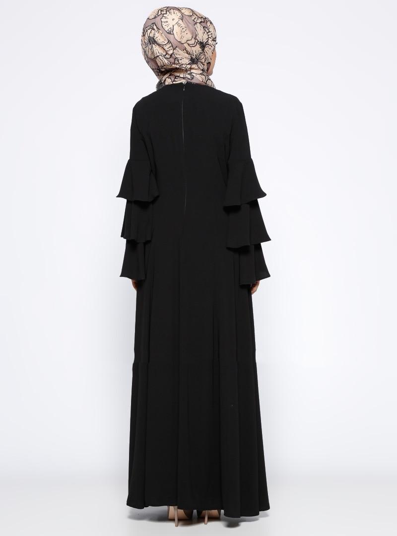 Купить модное мусульманское платье с длинным рукавом женский халат