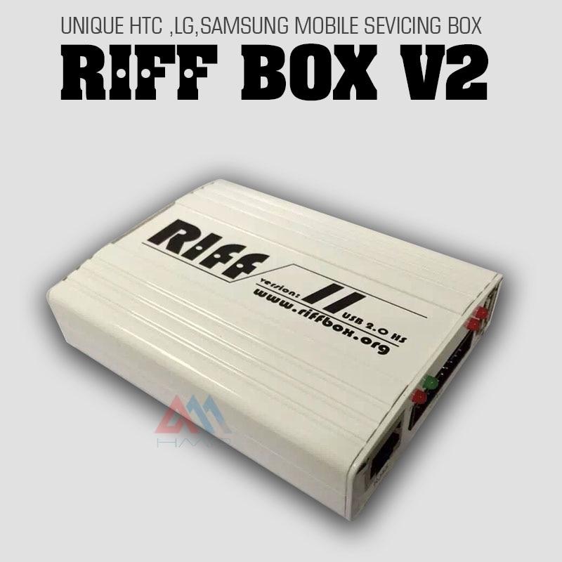 2016 New latest original riff box 2 Riff box v2 Best Jtag For HTC SAMSUNG Huawei
