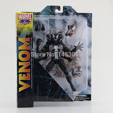 Frete Grátis DST Marvel Select The Amazing Spider-man Venom PVC Action Figure Toy Collcetion Modelo 2 21 cm # SPM002(China)