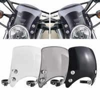 Motorccle ajustable personalizado compacto Deflector de viento deportivo para Harley Sportster 04-Up XL883 XL1200 Series modelos
