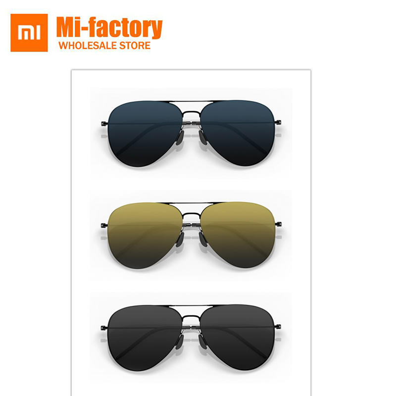 Xiaomi Turok Steinhardt TS Brand Nylon Polarized Sunglasses Glasses for Men Women Fashionable Black Sun Lenses 100% UV-Proof