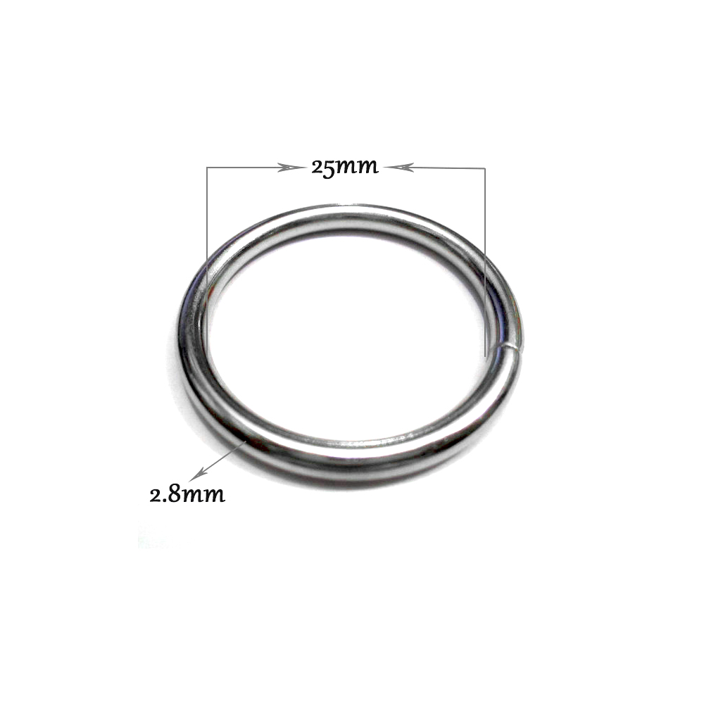 10 pieces lot An inner diameter of 26mm big circle DIY clothing accessories Big ring Curtains hanging ring Bag buckles in Buckles Hooks from Home Garden