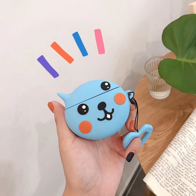 Cute Cartoon Silicone Airpods Case Cover 2