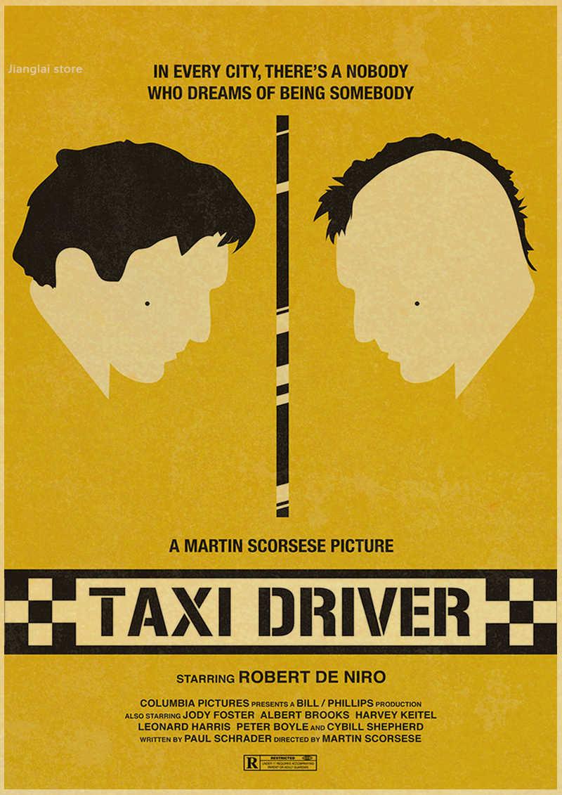 Taxi driver driver taxi classic movie poster decoration retro ...