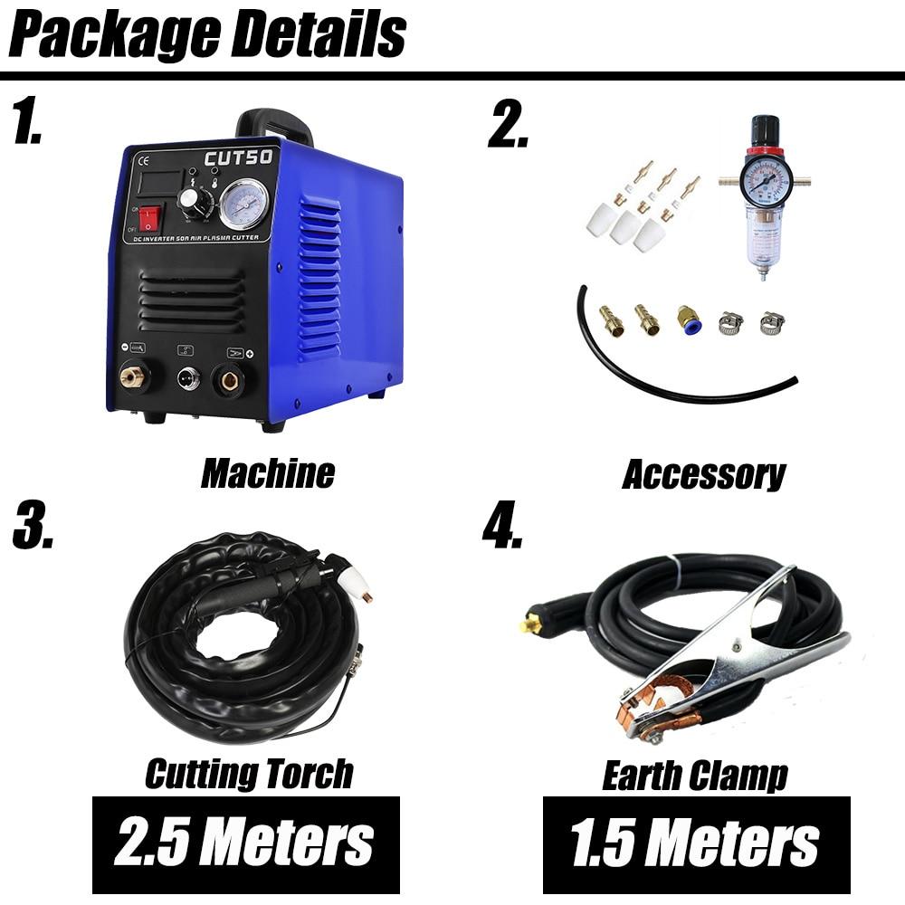 Безплатна доставка 50 ампера плазмен - Заваръчно оборудване - Снимка 2