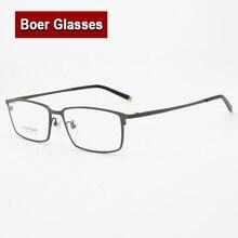 New design bussiness Pure titanium hot sale Full Rim Eyeglasses Frame Optical Fashion Eyewear Prescription Spectacles L075