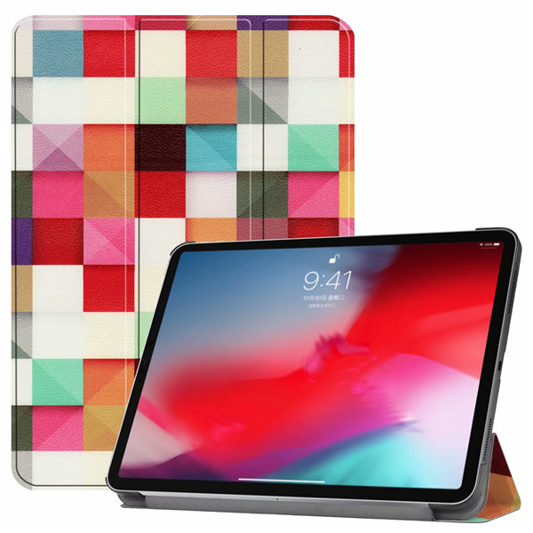 HLF iPad Pro3 11 2018 smart case with different patterns