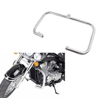 Chrome Highway Crash Bar Engine Guard For 2004 2011 Honda Shadow Aero VT 750 750C 2005 2006 2007 2008 2009 2010