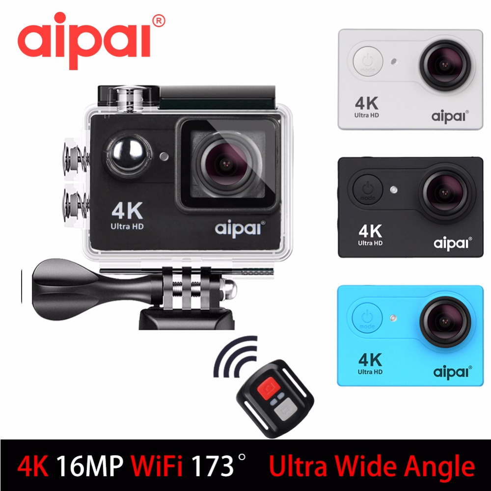 Aipal H9 H9R Action Camera Ultra HD 4K 30fps Sport Camera 1080P 60fps WiFi 2 0LCD