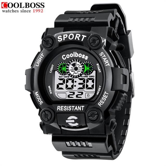 6b458736bd6e Hombres reloj marca Militar Relojes deportivos moda silicona impermeable  LED digital Reloj para hombres reloj hombre