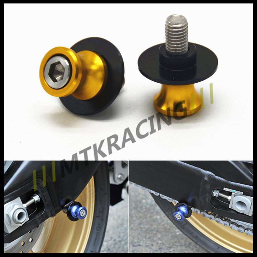 Free delivery 8mm CNC aluminum swingarm spools sliders Bobbin motorcycle accessories for SUZUKI GSR 600 750 GSX-R 600 750 00-14 free delivery 811600 4623