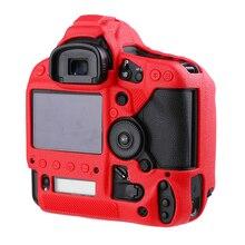 Câmera Corpo de Proteção macia da Borracha de Silicone Pele Caso Para Canon 1DX II 1DX Mark II Camera Bag protector capa