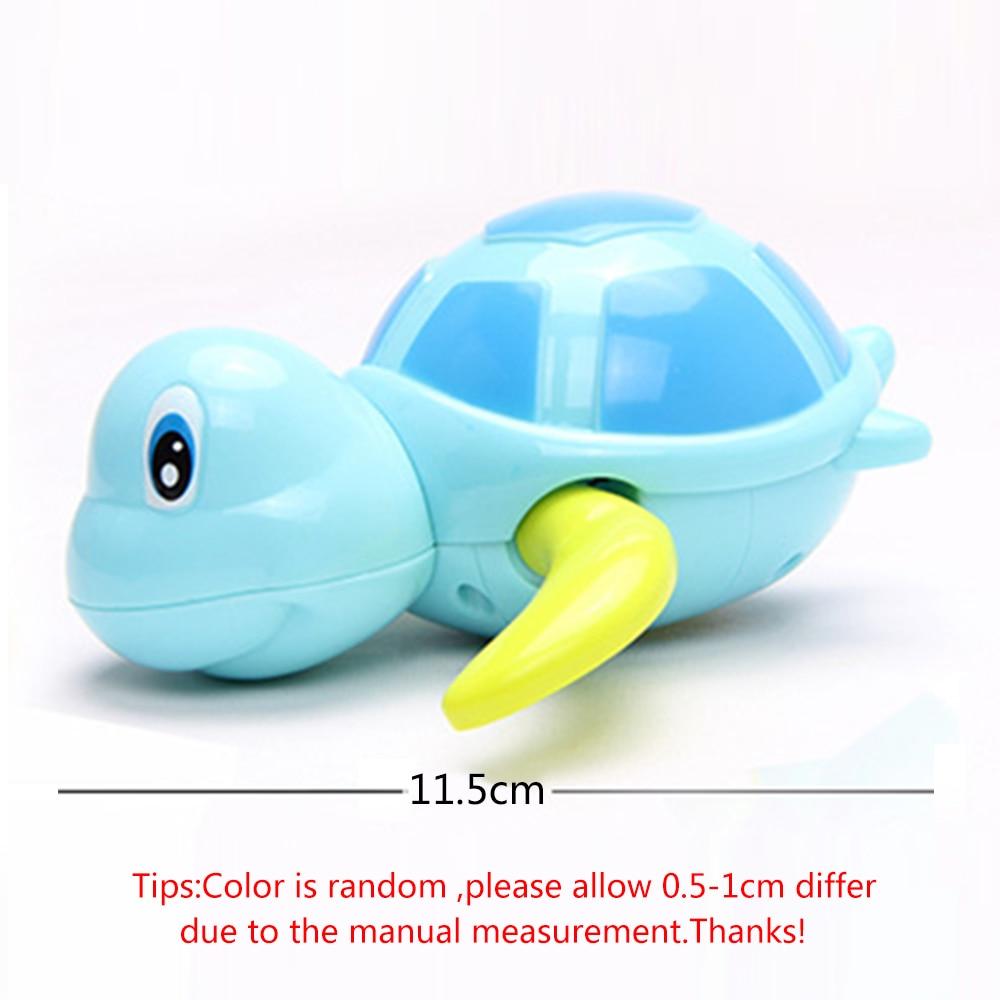 Newborn-Cute-Cartoon-Animal-Tortoise-Baby-Bath-Toy-Infant-Swim-Turtle-Chain-Clockwork-Classic-Toys-Kid-Educational-Toys-5