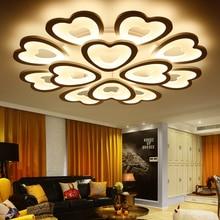 Eusolis 110 220 v Aluminium Led Plafondlamp Verlichting Plafond Lamparas De Techo Lampara Moderna Lustr Lamba 30