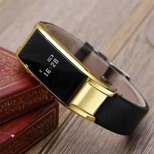 Bluetooth Smart Watch für Android Phone unterstützung SIM/TF frauen Metall Smartwatch Armbanduhr Smartband für Frauen