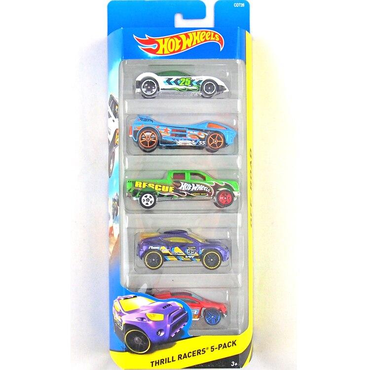 HotWheels Die-casts THRILL RACERS 5-PACK/1806/CDT26/Toy/Mannequin Automotive