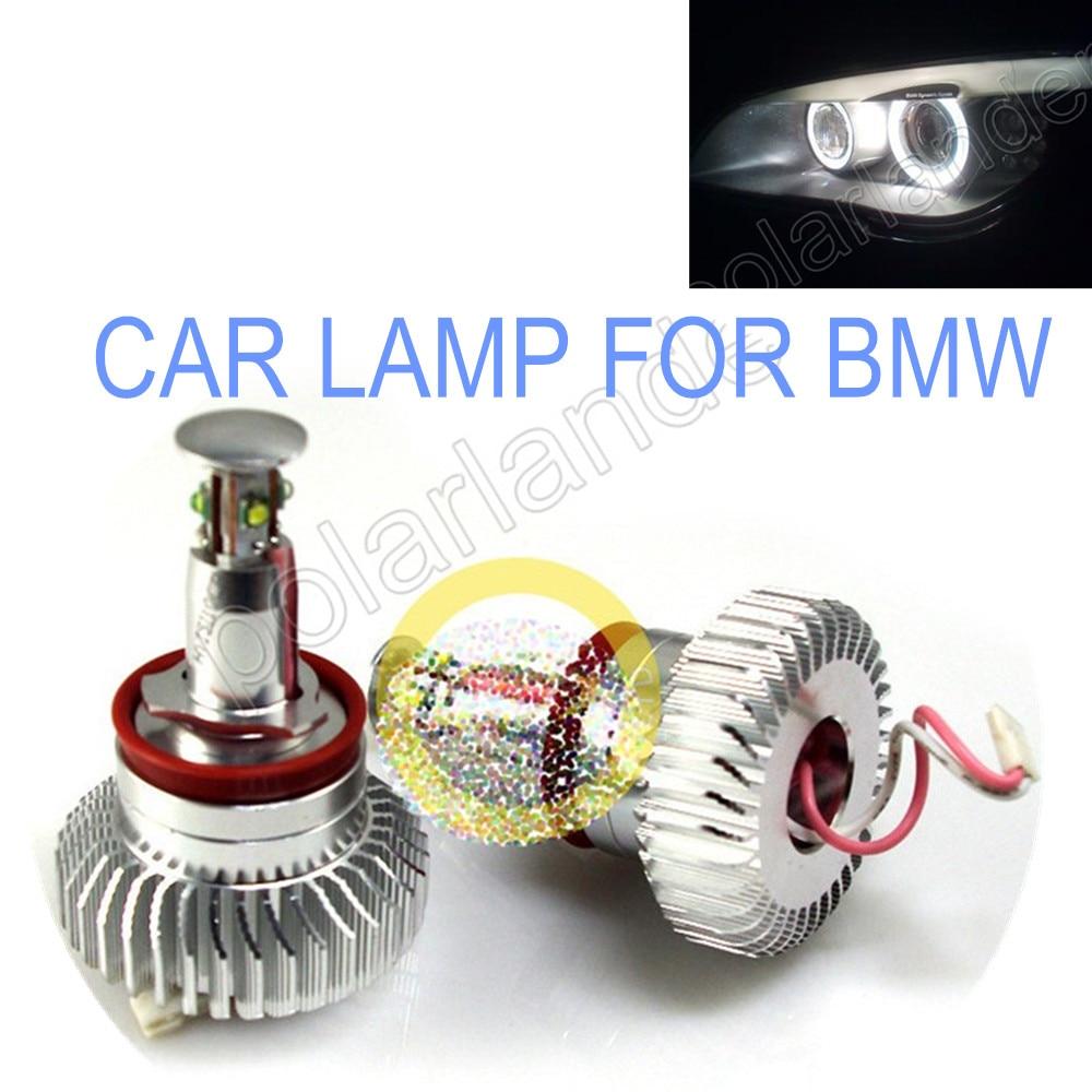 ФОТО FREE SHIPPINHG car lamp  32W ANGELE EYES LED MARKER for BMW E82/E87 /E90/E91/E92/E93etrc