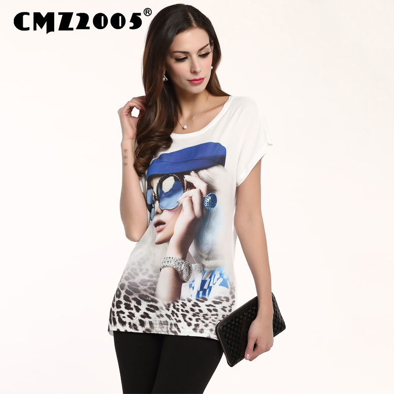 Blusa Tops Top Fashion Special Offer O-neck Cotton Knitted Print Regular Polyester Camisetas Unicorn T Shirt Women 71137