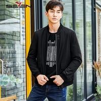 Seven7 Brand Punk Letter Pockets Back Parka Jacket Coat Men Clothes 2019 Winter Fashion Outerwear Warm Bomber Jacket 113K28400