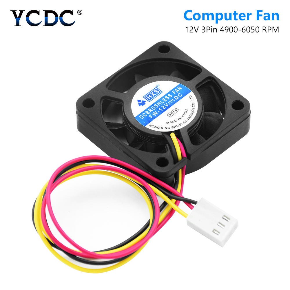 small resolution of new 3 pins 9 blades low noise dc 12v 40x40mm computer pc cpu cooler cooling fan heatsink exhaust blower power saving design
