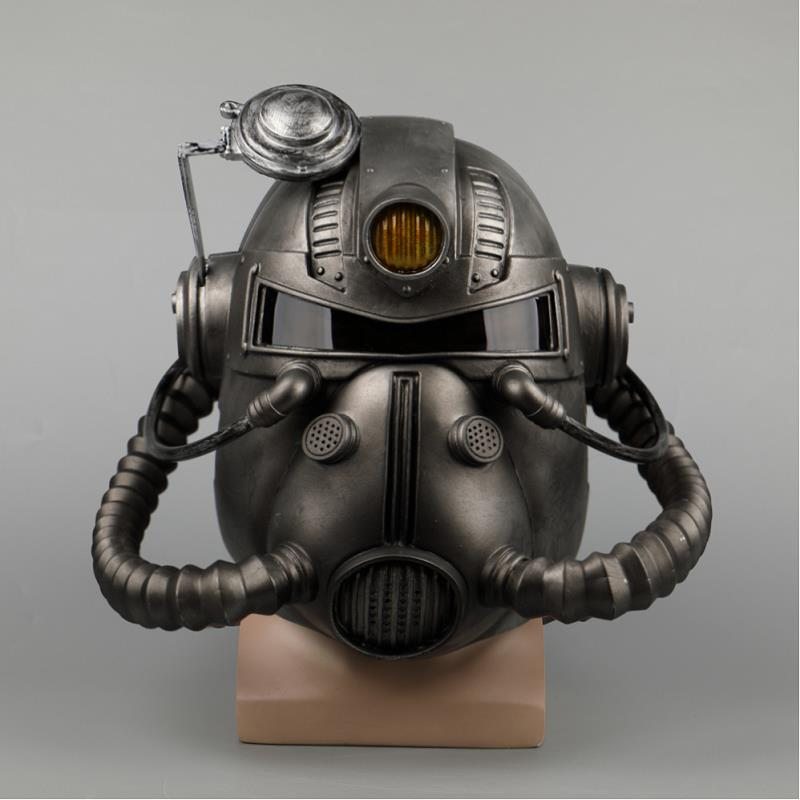 Fallout 4 Cosplay Mask Fallout 76 Helmet Sole Survivor Deacon Costume Headwear Halloween Party Props Christmas Mask Accessories