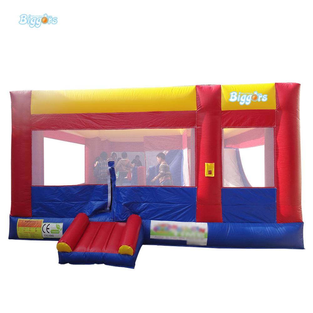 PVC Tarpaulin Inflatable Bouncy Castle Bounce House Jumper Bouncer Free Shipping With Blower commercial inflatable water slide with pool made of pvc tarpaulin from guangzhou inflatable manufacturer