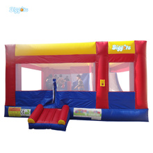 PVC Tarpaulin Inflatable Bouncy Castle Bounce House Jumper Bouncer Free Shipping With Blower