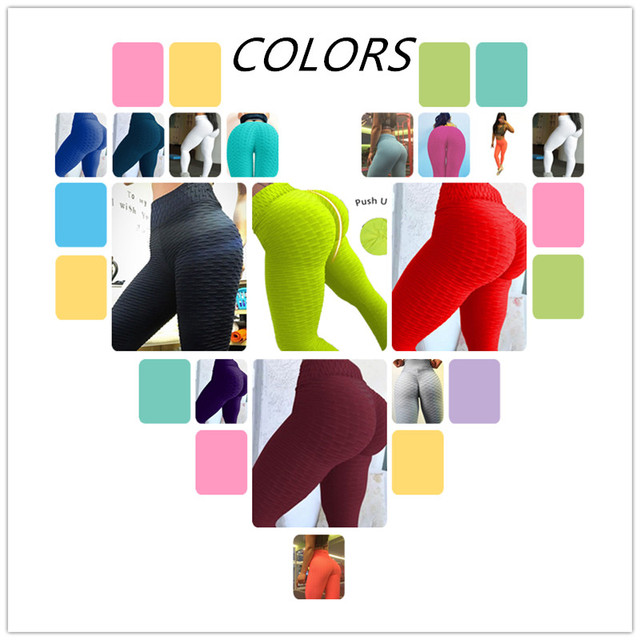 2018 Sexy Women High Elastic Fitness Sport Leggings Yoga Pants Slim Running Tights Sportswear Sports Pants Trousers Clothing