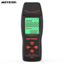 Meterk ЭДС метр Ручной мини цифровой ЖК-дисплей ЭДС детектор электромагнитного поля тестер Дозиметр Тестер счетчик