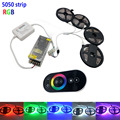 smd RGB LEDs Strip light 5050 5m 10m 15m 20m waterproof led light 60Leds/M led tape diode set  RF Controller 12V power supply