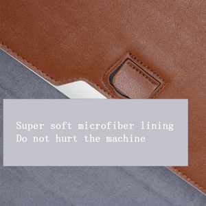 Image 3 - New Notebook Case Laptop Sleeve Cover For Macbook Air 13 Pro Retina 11 12 2018 15 Touch Bar For Xiaomi Pro 15.6 Leather Bag