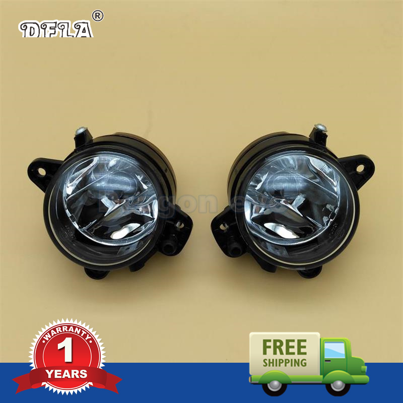 2PCS Car Styling For VW Polo 2005 2006 2007 2008 New Pair Of Front Halogen Fog Light Fog Light With Bulbs  цена
