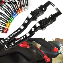 For Honda CB1300 CB 1300 X4 1998 1999 SC38 Motorbike Adjustable Folding Extendable Moto Clutch Brake Levers