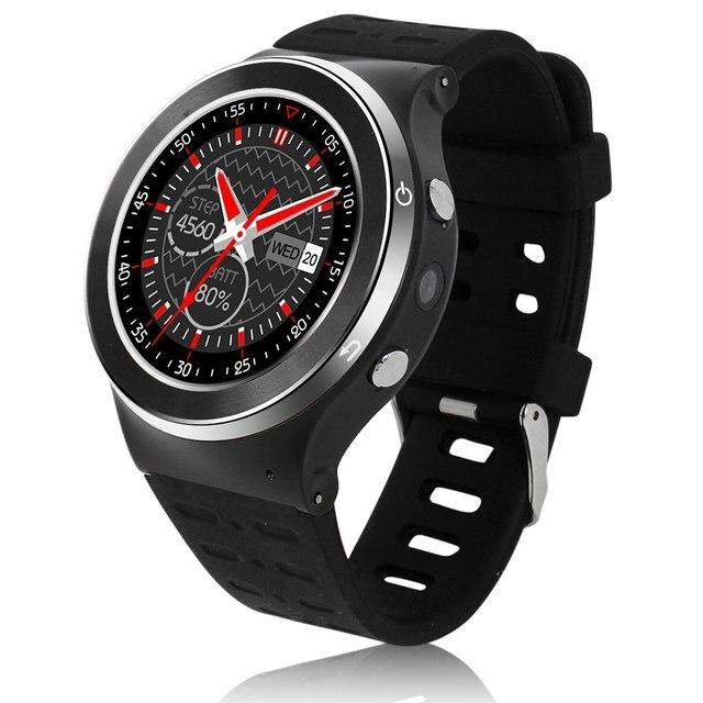 """ZGPAX S99 Smartwatch Android 5.1 3 Г Телефон Вахты MTK6580 1.3 ГГц Quad Core 512 МБ 8 ГБ Сердечного ритма монитор Шагомер 1.3 """"Smart Watch"""