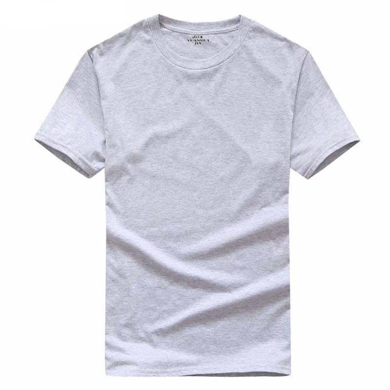 2017 New Solid color T Shirt Mens Black And White 100% cotton T-shirts Summer Skateboard Tee Boy Skate Tshirt Tops XS-XX