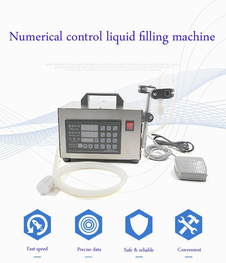 Automatic Liquid Water Filling Machine