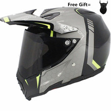 DOT approved Full Face Motorcycle Helmet Racing Helmet hilldown Motocross Off Road Helmet Casco De Moto Capacete kask  S to