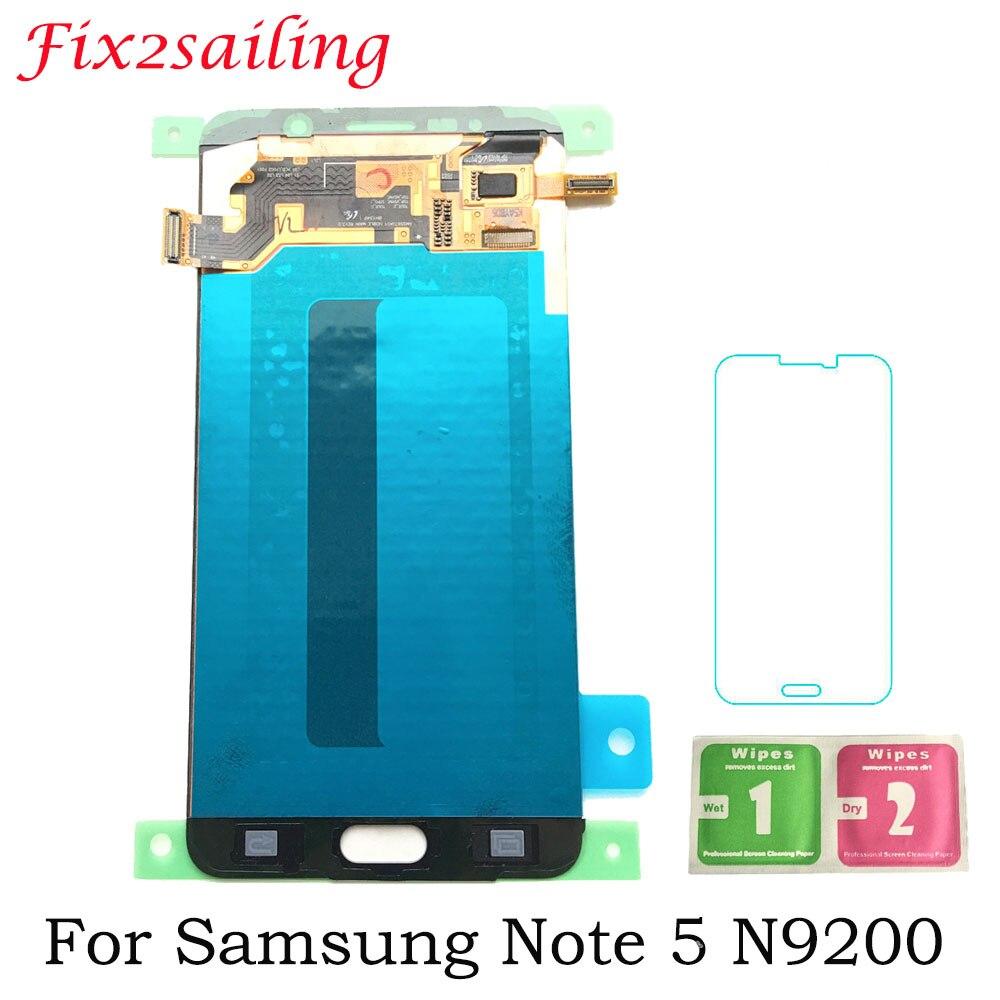Super AMOLED ЖК дисплей S для Samsung Galaxy Note 5 N9200 n920t N920A n920i n920g + сенсорный экран Ремонт Запчасти дисплей
