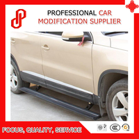 Automatic scaling high quality aluminium alloy Electric pedal side step running board for Tiguan 2011 12 13 14 15 16 2017