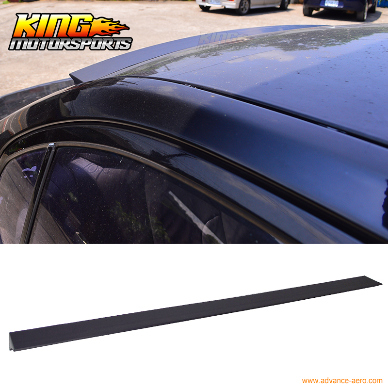 For 2012-2016 Toyota Camry VRS Style Unpainted Rear Roof Spoiler Wing Visor - PUF for 09 10 11 mazda 6 2nd vrs style roof spoiler wing unpainted puf