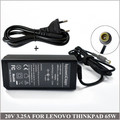 20V 3.25A 65W Laptop AC Adapter Charger For Ordinateur Portable Lenovo ThinkPad X121 X200 X201 X220 X230 X300 X301