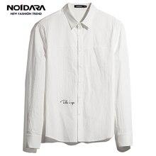 No.1 dara Men Shirt 2018 Brand Mens Long Sleeve Slim fit camisa masculina High Quality men vetement homme